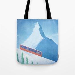 Ski Zermatt Tote Bag