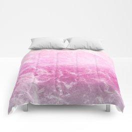 Enigmatic Unicorn Marble #1 #decor #art #society6 Comforters