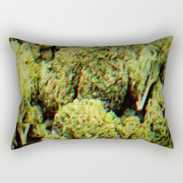Weed Rectangular Pillow