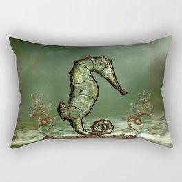 Wonderful seahorse Rectangular Pillow