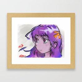 Corpsey Girl Framed Art Print