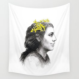 The spanish broom girl Wall Tapestry