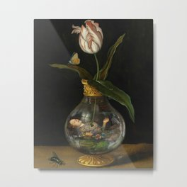 Ethereal Muse *collage Metal Print