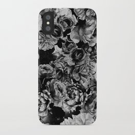 Black Roses iPhone Case