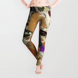 Sun Bronzed Hunks Leggings
