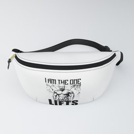 Breaking Bad I Am The One Who Lifts Gym Fanny Pack