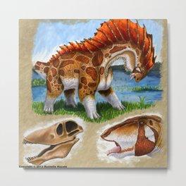 Amargasaurus Metal Print
