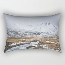 Heading to the Mountains - Landscape and Nature Photography Rectangular Pillow