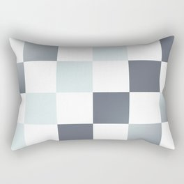 Square Pattern Simple Grid #decor #society6 #buyart Rectangular Pillow