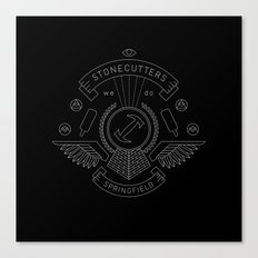 Members Only: Stonecutters Canvas Print