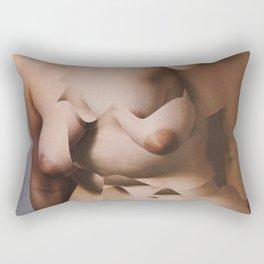 torso cut Rectangular Pillow