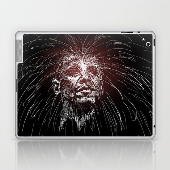 Obama Fireworks Laptop & iPad Skin