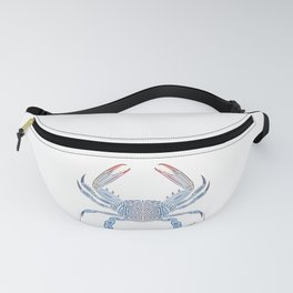 Tribal Blue Crab Fanny Pack