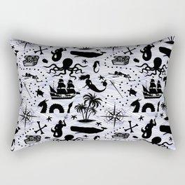 High Seas Adventure // Rectangular Pillow