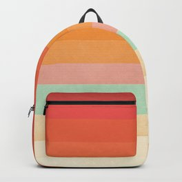 Rainbow Chevrons II Backpack