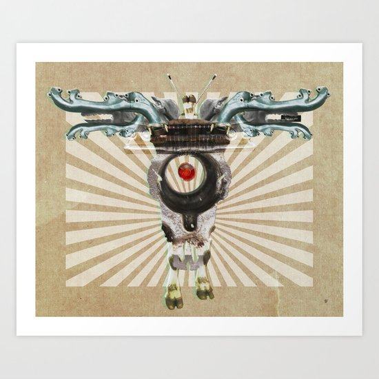 Radiation Day · Monolithic Baby Art Print