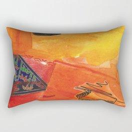 Color-washed life 11 Rectangular Pillow