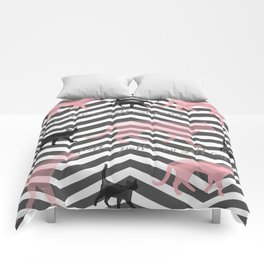 Pitter Patter on Soft Cat Paws Comforters