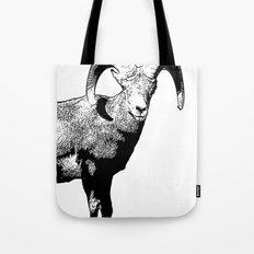 Ram Stamp  Tote Bag