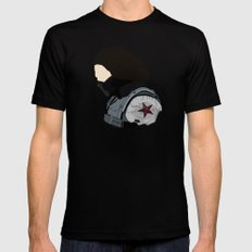 Bucky MEDIUM Black Mens Fitted Tee