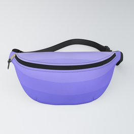Blue Violet - Heather - Lavender Ombre Stripes Fanny Pack