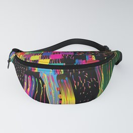 rainbow squares Fanny Pack
