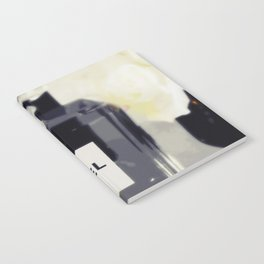 Black and White Coco Notebook