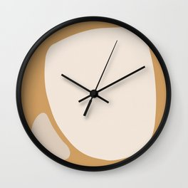 Abstract Shape Series - Neighbors Wall Clock