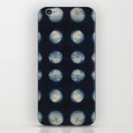 Shibori Moons iPhone Skin