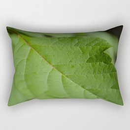 green sheet Rectangular Pillow