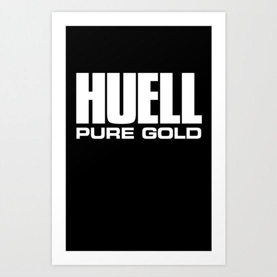 Huell Howser Pure Gold California Art Print