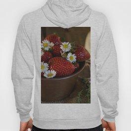 Flowered Strawberries Hoody