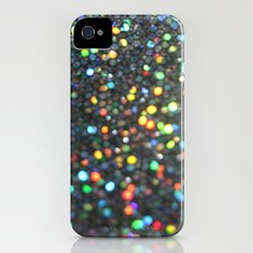 Sparkles: Paint Daubs Slim Case iPhone (4, 4s)