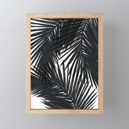 Palms Black Framed Mini Art Print