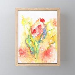 Rose Garden One Framed Mini Art Print
