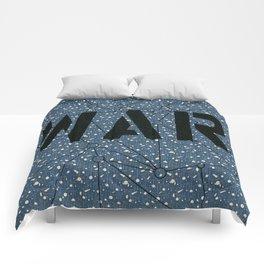 War blue Comforters