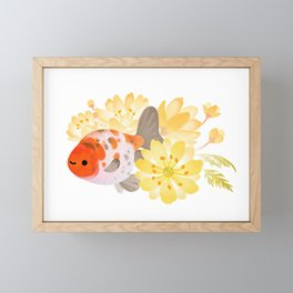 Ranchu and Adonis Framed Mini Art Print