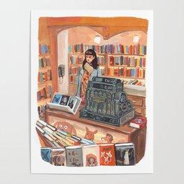 The Corner Bookstore Poster