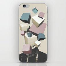 Queen of Cubes iPhone & iPod Skin