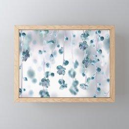 Cherry Flower 2 (spring floral pattern) Framed Mini Art Print