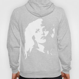 Blondie, Music Legend, Black, White, Cinema, Art, Author, Song Writer, Musician, Punk, Hoody