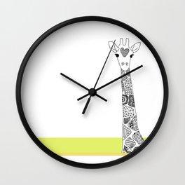 ggiirraaffee Wall Clock
