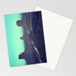 monument valley 5 Stationery Cards