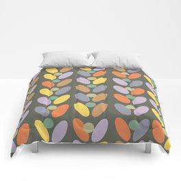 60's retro pattern Comforters