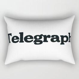 Telegraph Rectangular Pillow
