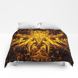 Deva Asura Gold Comforters