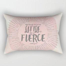 FIERCE - PINK Rectangular Pillow