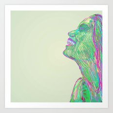 Laughing With Art Print