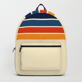 Mitsunari - Classic Retro Stripes Backpack