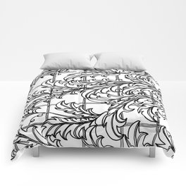 A Mediterranean Floral Comforters